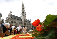 Pesta Bunga di Belgia