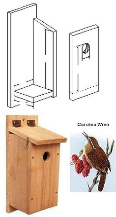 woodworking project - wren house