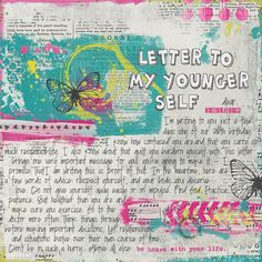 Loving this idea so much!!!  A letter to my younger self by strawberryredhead, via Flickr