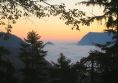 Dawn seen from the Kramersteig
