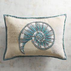 Shell Lumbar Pillow   Pier 1 Imports