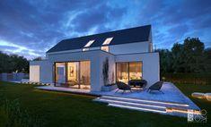 Modern House Plans, Modern House Design, Barn House Kits, Contemporary Barn, Swedish House, Dream House Exterior, House Extensions, Home Design Plans, Home Fashion