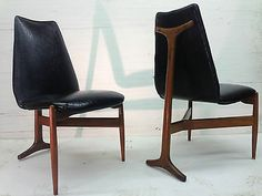 4 Mid Century Modern Set Of Chairs By Kodawood