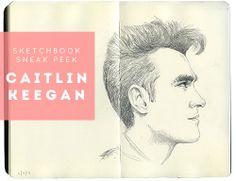 Sketchbook Sneak Peek: Caitlin Keegan