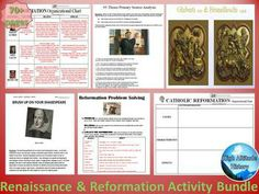 All of the Activities You Need to Teach Your Students About the Renaissance!  $14.99