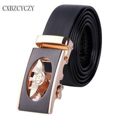 Style Luxury Brand Belt Men s Belt designer Belts Men High Quality leather  Belts for Men Automatic Buckle gold ceinture femme b3c1f496f41