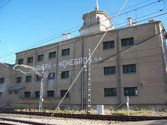 Patrimonio Industrial Arquitectónico: Peligro para la harinera de Sariñena (Huesca). Apu...