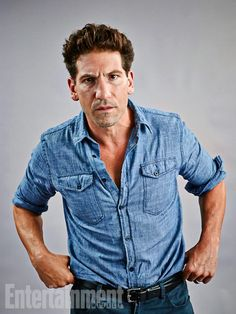 Jon Bernthal, Fury. See more stunning star portraits from our photo studio at San Diego Comic-Con 2014 here: http://www.ew.com/ew/gallery/0,,20399642_20837150,00.html