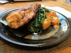 Chef Anthony Sedlak's Honey Chicken with Crushed Butternut Squash Honey Chicken, Butternut Squash, Poultry, Pork, Dishes, Meat, Recipes, Kale Stir Fry, Backyard Chickens