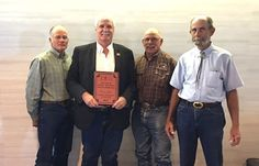 TUCSON — Graham County Supervisor Drew John was recently presented with an award recognizing him as Arizona Supervisor of the Year for 2015.