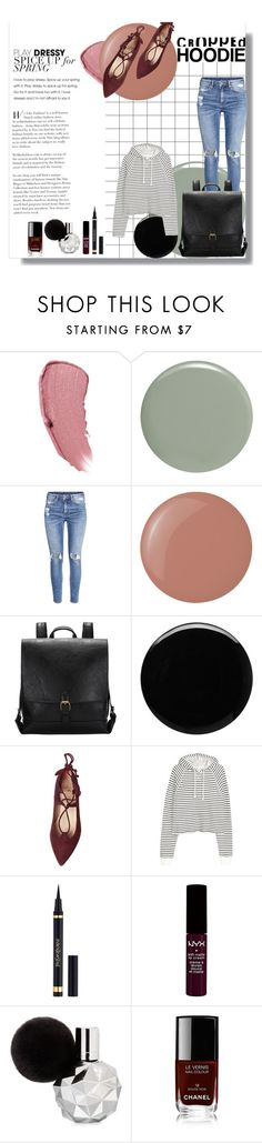 """Untitled #3"" by robyn-patrick ❤ liked on Polyvore featuring Chanel, RGB, H&M, Butter London, Deborah Lippmann, Yves Saint Laurent and NYX"
