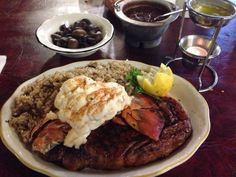 From 10 ounces - 2 pounds of juicy meat cut however you like best, to barbecue, to fresh seafood, you won't be disappointed with anything you order at Cattleman's.