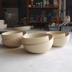 Whirl bowls.