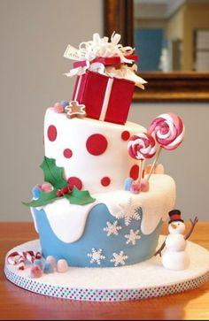 winter taart