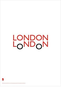 London London logo type-type-type