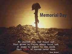 memorial day on may 30th