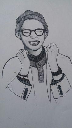 Kim Namjoon Bts drawing