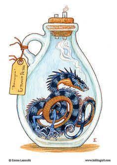Bottled: Blue Thornwyrm