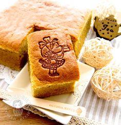 whole wheat banana ogura cake