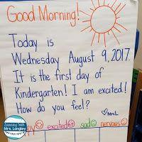 Morning Routines in Kindergarten