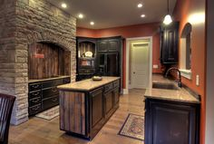 custom black kitchen cabinets. Kitchen 1 - Custom Barnwood Accented And Black Distressed Cabinets. Cabinets T