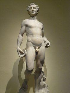 Bacchus by Domenico Poggini Florence Italy 1554 CE marble