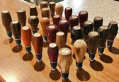 Wood Projects, Projects To Try, Wine Bottle Stoppers, Lathe, Wood Turning, Gallery, Glass, Diy, Corks