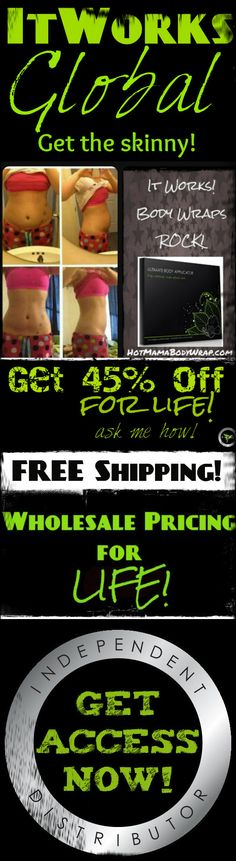 serious perks to becoming a loyal customer! LIKE 45% off on #bodywraps! Click now to see what #skinnywraps can do for you!    http://hotmamabodywrap.com/change-your-life