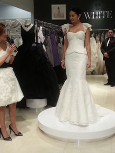 TRULY Zac Posen Wdding Gowns exclusively designed for David's Bridal.