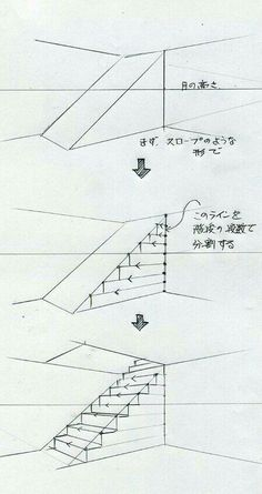 Zeichnen (Treppe) drawing for beginners drawing house architecture drawing Interior Architecture Drawing, Architecture Drawing Sketchbooks, Architecture Concept Drawings, Interior Design Sketches, Sketch Design, Indian Architecture, Japanese Architecture, Futuristic Architecture, Conceptual Architecture