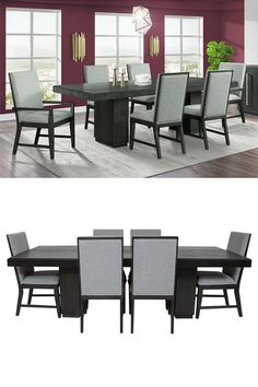 Transform your dining room area into a space your family and guests will never want to leave! Concerned about having room for the whole family? This double pedestal table has a 22-inch leaf to extend and condense your table to suit family dinners, holiday events, game nights, and date nights. The Donovan Collection by Elements is online or in-store at Great American Home Store in Memphis, TN, and Southaven, MS. #diningroom #diningroomfurniture #diningtable #familydining #dining #kitchentable