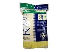 Vacuum Cleaner Bags 20618: Genuine Royal Dirt Devil Style V, 7 Micro Vacuum Cleaner Bags And 1 Filter Ar10125 -> BUY IT NOW ONLY: $189.08 on eBay!