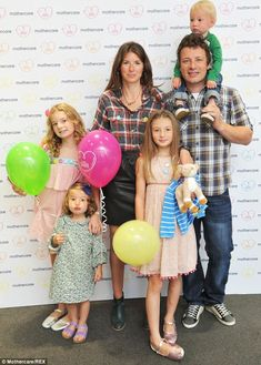 jamie oliver family photo - Google Search