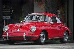 1965 Porsche in the red car