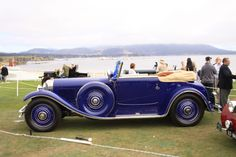 "and-the-distance: "" 1929 Bentley Speed Six Saoutchik Drophead Coupé """