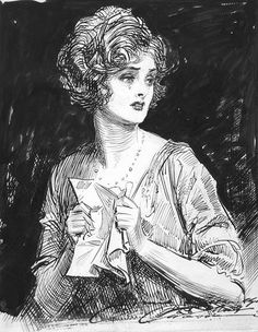 The Cats and the Berries: Artist Feature: Charles Dana Gibson吉布森