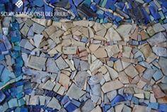 Scuola Mosaicisti del Friuli, Mosaic School-  Materials & Details
