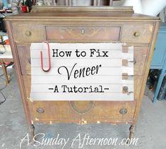 How to Fix Veneer
