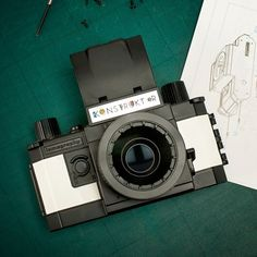 Everyone's a photographer these days, but not everyone has built their own camera. Change that with the Konstruktor DIY SLR Camera by Lomography.