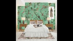🔊 Here are a few simple steps to make a room magical! ✨ #fifikoussout #print #homedecor #interior #botanical #pink #green #floral #fall #cozy #WallMural #Society6 #Society6WallMural #rug #Bedroom #art #🌿 [Room white base Mockup created by Alexandercho on www.freepik.com] White Rooms, Bedroom Art, Mockup, Wall Murals, Cozy, Rug, Base, Simple, Interior
