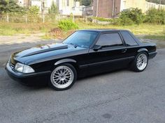 Notchback Mustang, Fox Body Mustang, 4x4 Van, C10 Chevy Truck, Mustang Convertible, Garage Makeover, Ford Classic Cars, Mustang Cars, Coyotes