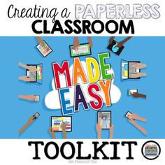 Creating a Paperless Classroom Toolkit Made Easy Personal Use Get ready for your technology infused 21st century classroom! Your common core lessons will be alive with enthusiasm when you bring digital notebooks to your students. #tptdigital  Get ready for your technology infused 21st century classroom!