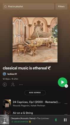 Classical Music Playlist, Playlist Music, Playlist Ideas, Music Recommendations, Good Vibe Songs, Music Mood, Music Aesthetic, Music Is Life, Music Bands