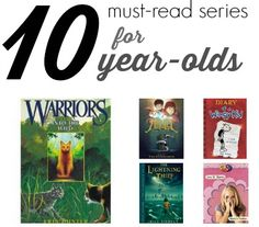 All-Time Best Book Series for 10-Year-Olds from #ScholasticParents!  I can vouch for this list - my 10 year old loved so many books on this list!