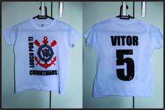Seu Time do Coração vira Camiseta Personalizada !!! By Silkstars ... Especial para Aniversários
