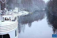Jokilaiva Barpuuri Seinäjoella © Jari Ratilainen, 2013 Nordic Design, Finland, Mythology, Scenery, Outdoors, Art, Outdoor, Art Background, Paisajes
