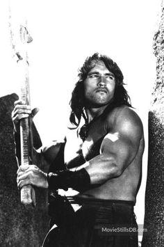 Conan The Destroyer - Publicity still of Arnold Schwarzenegger Patrick Schwarzenegger, Maria Shriver, Arnold Movies, Conan The Barbarian 1982, Arnold Photos, Conan The Destroyer, Conan Movie, 1984 Movie, Vikings