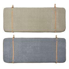 Designstuff offers a wide range of Scandinavian design home decor including this stunning Bed Head/Headboard by OYOY, Denmark. Grey Cushions, Linen Pillows, Linen Bedding, Bed Linens, Beige Bed Linen, Head Boards, Bed Linen Design, Brass Buckle, House Beds