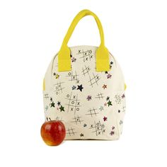 Zipper Lunch Bag - TIC TAC TOE