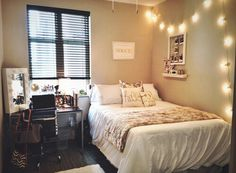 """fbarbiishion: """"Small bedroom ideas on We Heart It. """" Here's for the anon who requested help with their small bedroom!"""